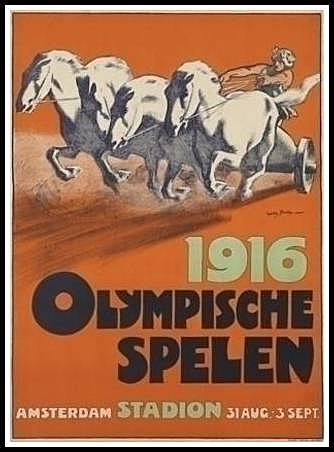 Suspension Juegos Olimpicos Berlin 1916
