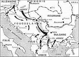 Hitler envaeix Iugoslàvia