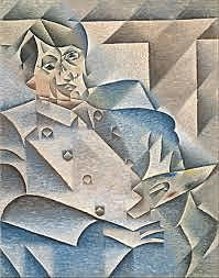 He starts with Cubism