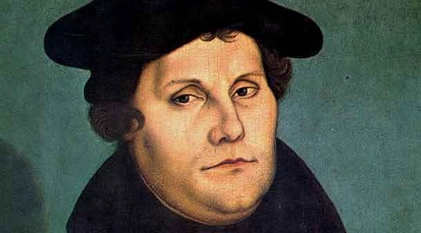 Martin Luthers fødsel og liv