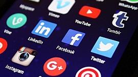 Evolução das redes sociais timeline