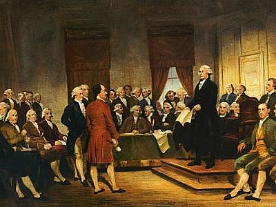 Constitución de nuevo orden politico