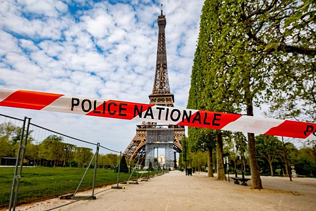 France goes into lockdown