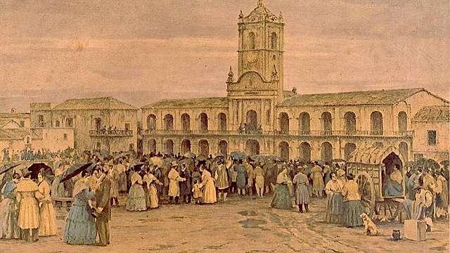 Criollos reclaman un gobierno propio.