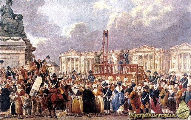 Ejecución de Luís XVI