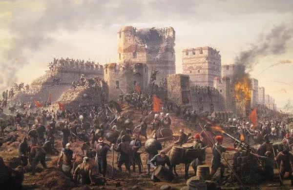 L'Imperi Otomà conquesta Constantinoble