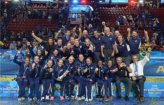 Women Win FIVB Championship