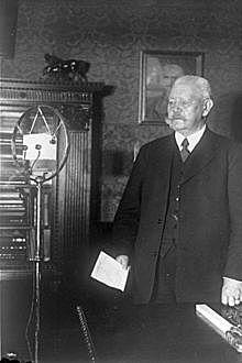Paul von Hindenburg president