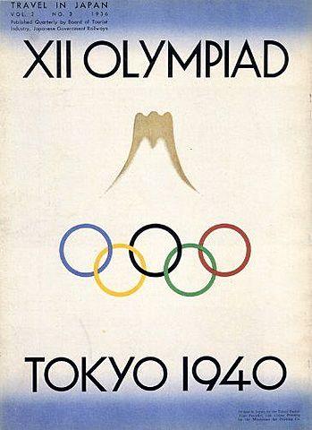 Suspension Juegos Olimpicos Tokio 1940, Londres 1944
