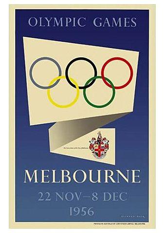 Juegos Olimpicos Melbourne 1956