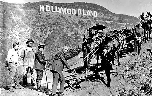Cine- Nacimiento de Hollywoodland