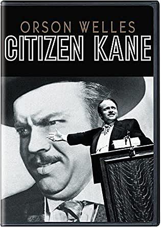 Citizen Kane- una de las mejores películas en la historia del cine.