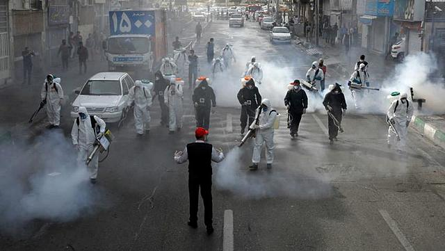 Iran imposes a national-wide lockdown