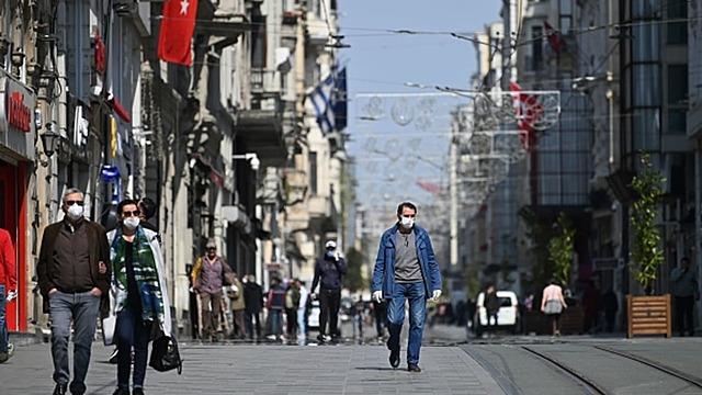Turkey made wearing facial mask mandatory in over 10 countries