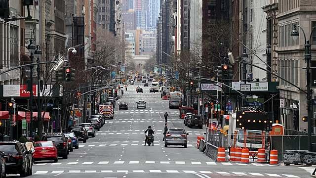 Lockdown of New York: Extended