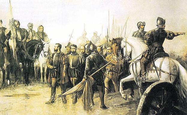 La Batalla de Villalar