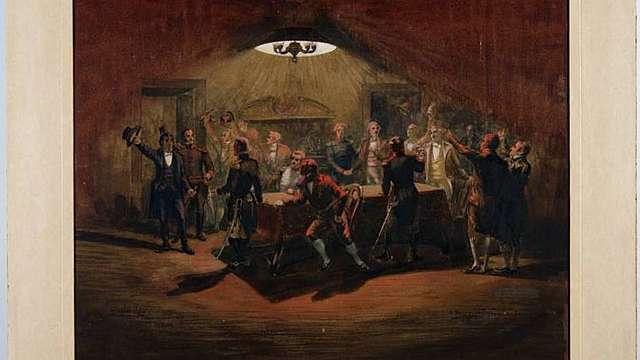 Cisneros reunió en la Fortaleza a los jefes militares para pedir su apoyo.