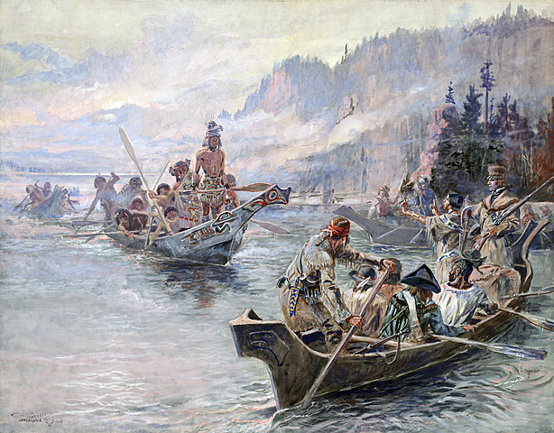 Lewis and Clark reach the Pacific Ocean