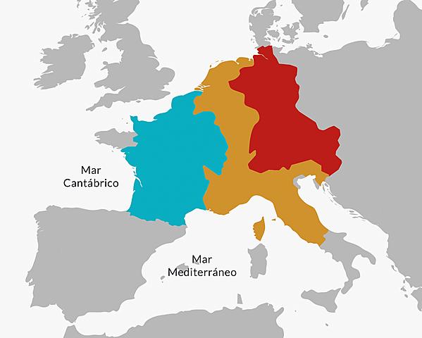 Las campañas militares de Carlomagno para unificar el Imperio