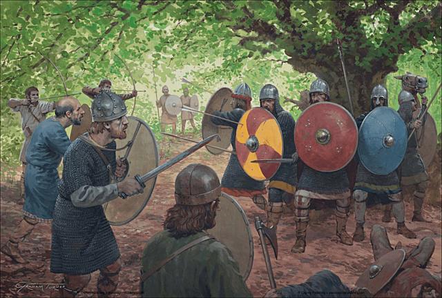 Guerra contra los Sajones de Germania