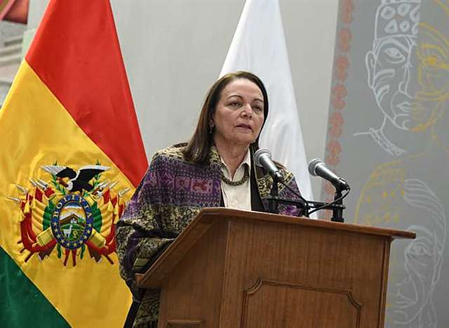 Jeanine Áñez posesiona a su tercer ministro de Salud en seis meses; Eydi Roca fue oficializada