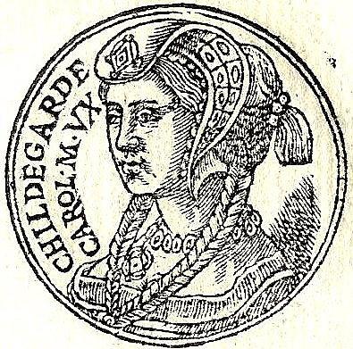 Carlomagno se casó con Hildegarda