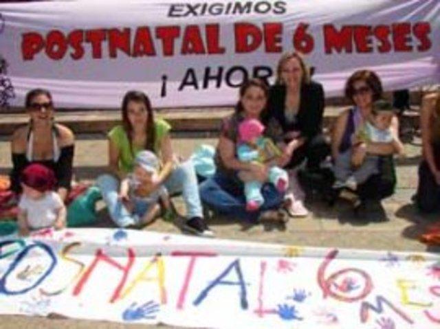 Protesta Frente a La Moneda