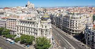 Madrid es converteix en capital