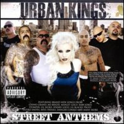 "ms.krazie's first cd comes out when she joins ""urban kings"""