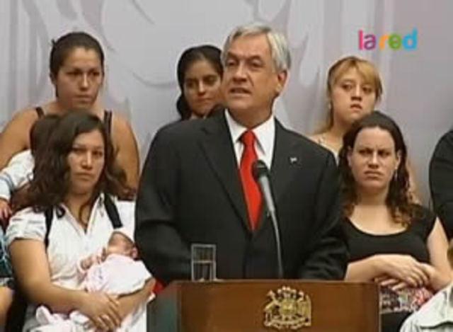 Piñera hace llamado a la Concertación