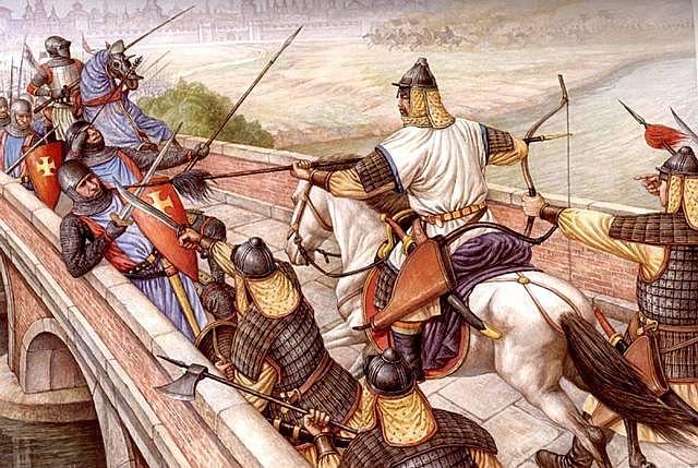 Invasión Mongola a Europa Oriental