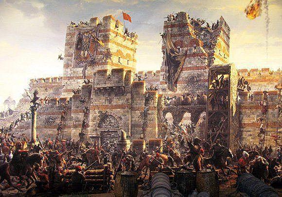 Caida del Imperio Romano de Oriente