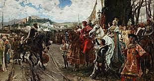 Toma de Granada por parte de los Reyes Católicos