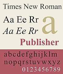 Tipografía evolución