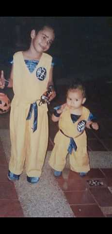 My first costume