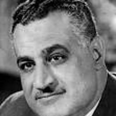 Nasser de 1945 à 1970 timeline
