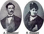 Sposi,  Alessandro Montessori e Renilde Stoppani