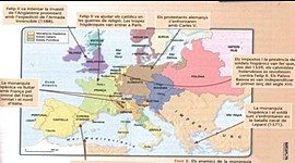 Fets històrics i canvis monàrquics a Espanya des de finals del s.XV fins al s.XVII  timeline