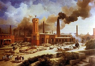 Primera revolución Industrial.