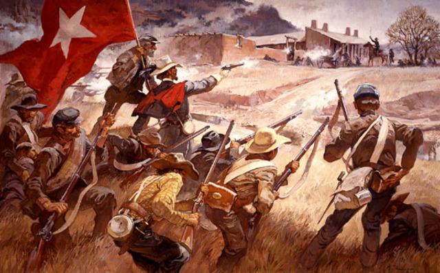 The Battle of Glorieta Pass