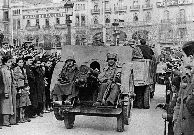 Beginning of the Spanish Civil War