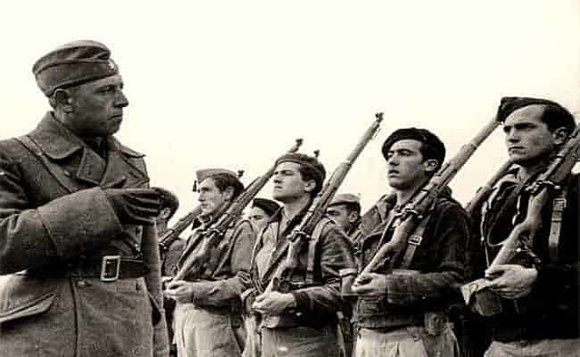 End of the Spanish Civil War