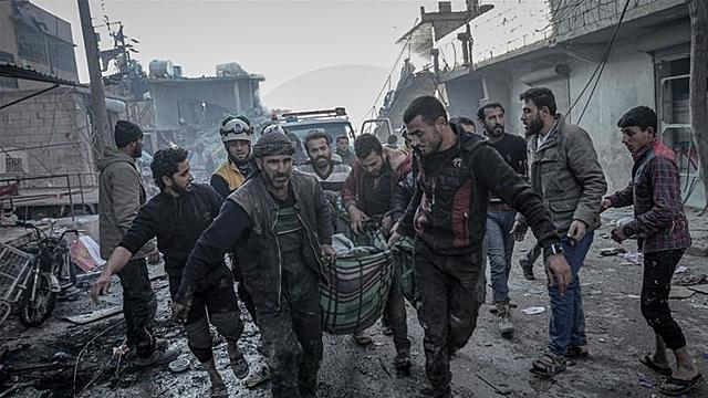 Syrian Civil War starts