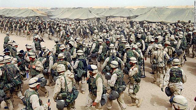 Beginning of the War of Iraq