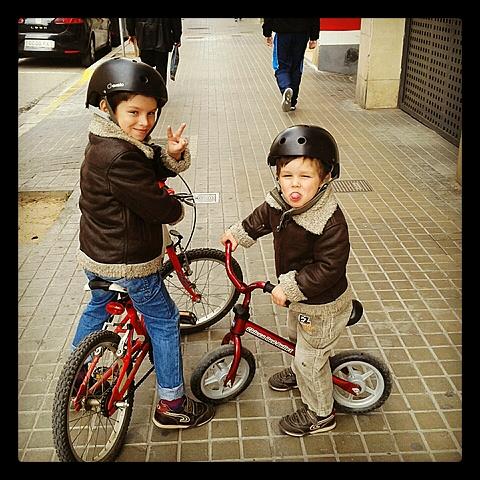 Aprendre a muntar en bici