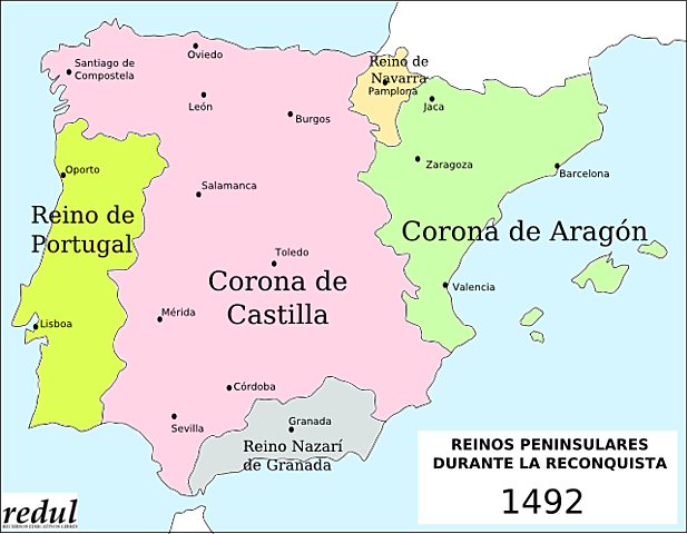 Conquestes durant el regnat dels Reis Catòlics