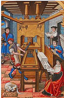 Invenció de la impremta