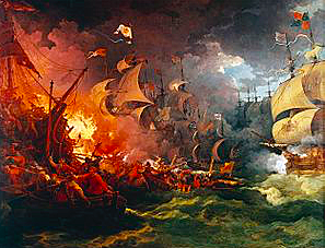 Derrota de l'Armada Invencible