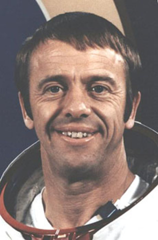 The first American in space