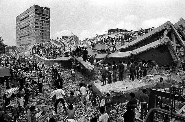 Terremoto en México de 8.1 grados Richter.